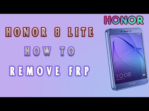 honor 8 lite frp | how to remove frp honor 8 lite - YouTube