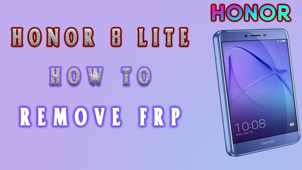 honor 8 lite frp | how to remove frp honor 8 lite
