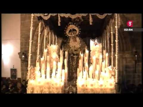 La Hiniesta. Entrada de la Virgen de la Hiniesta. Año 2011.