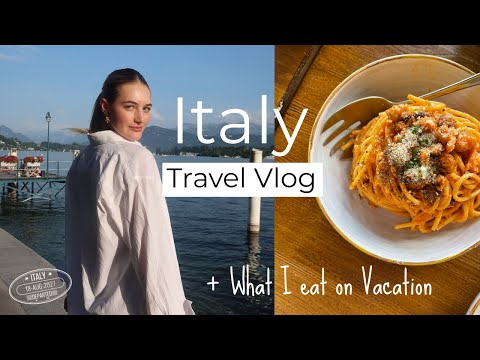 The Most Magical Place I Have Ever Been! |  Italy Travel Vlog + What I Eat on Vacation | Sanne Vloet