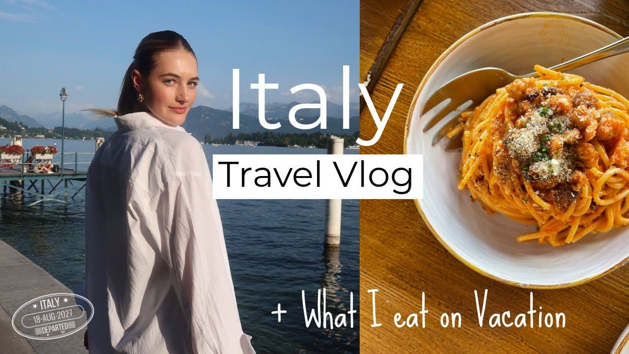 The Most Magical Place I Have Ever Been!    Italy Travel Vlog + What I Eat on Vacation   Sanne Vloet