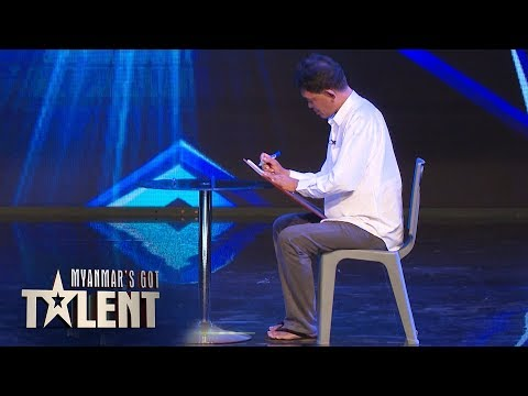 Naing Thit Oo: Auditions | Myanmar's Got Talent 2018 thumbnail