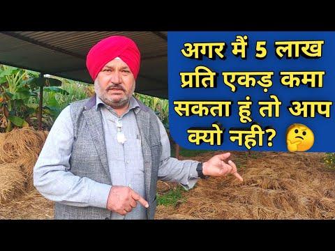 ऐसे कमाता है लाखों जैविक खेती से धर्मपाल जैलदार|Successful Progressive Organic Farmer