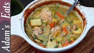 Chicken casserole with leek and potatoes | Comfort food recipe | Chicken casserole recipes