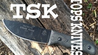 Tops Knives TSK (Tactical Steak Knife) Review: Get Cutting
