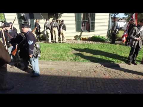 Scenario: Attempted burning of Carroll House
