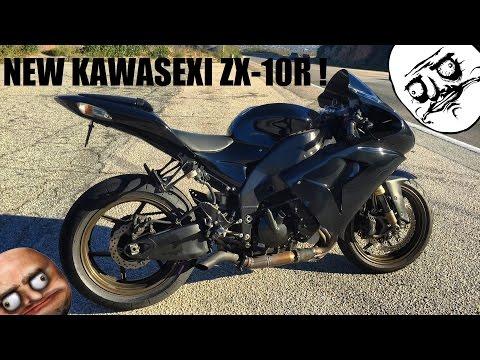 KAWASAKI ZX-10R | My New 1000cc Beast !