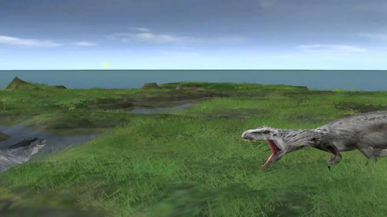 Jurassic World Mod JPOG Indominus Versus Mosasaurus [on ...