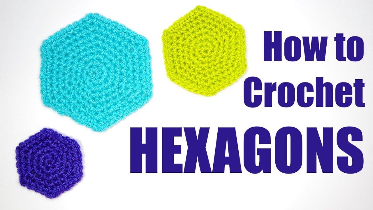 How to Crochet Hexagons   Yay For Yarn