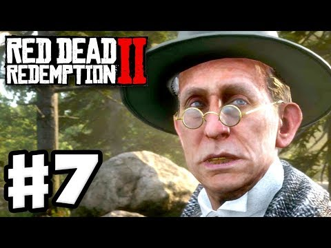 Red Dead Redemption 2 - Gameplay Walkthrough Part 7 - Money Lending and Other Sins! (RDR2 PS4)