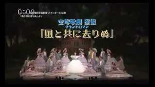 宝塚歌劇星組「風と共に去りぬ」のテレビCMです。