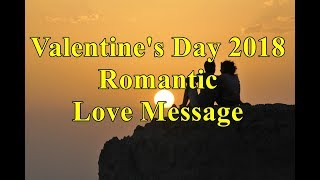 Valentine's Day 2018 Romantic Love Message Wishes Images SMS and Photos
