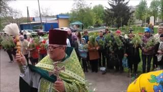 Вербное воскресение в храме  Марии Магдалины, пгт. Магдалиновка(, 2016-04-24T18:09:18.000Z)