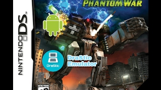 [23] MECHASSAULT PHANTOM WAR NDS video clip gameplay with DraStic emulator on Android