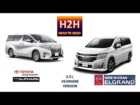 Head2Head 15 All New Toyota Alphard vs New Nissan Elgrand