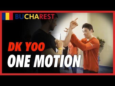 One motion - DK Yoo in Bucharest