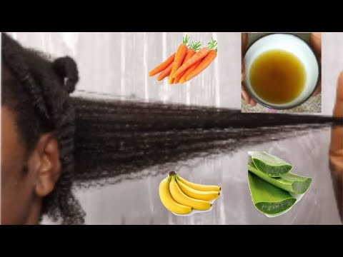 How To Treat Dry Damage Natural, Relaxed & Permed Hair With CAB Oil #damagehair #drynaturalhair