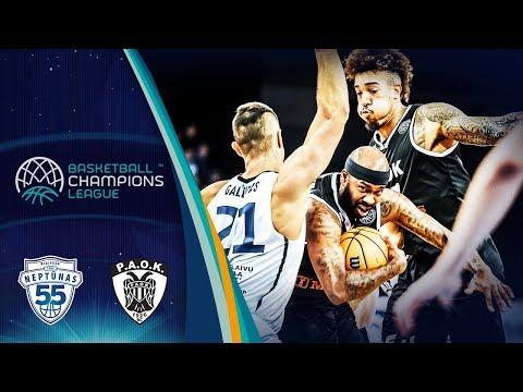 Neptunas Klaipeda V Paok – Highlights – Basketball Champions League 2019-20
