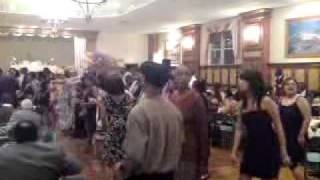 Nigeria/Jamaica Wedding/ Electric Slide Dance! USA