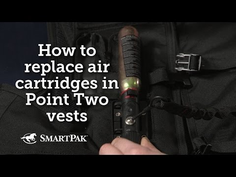How To Replace Air Cartridges In Point Two Air Vests