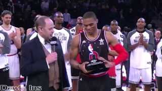 Russell Westbrook 41 points vs East (Full Highlights) All Star MVP!