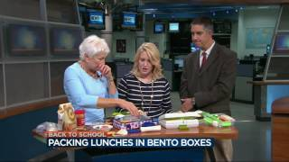 Nutritionist Donna Weihofen shares ideas for packing school lunches...