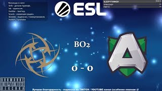 [RU] Ninjas in Pyjamas vs. Alliance - ESL One Katowice 2019 BO2 @4liver_r