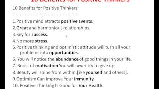 Power Of Positive Thinking Essay  Fultoncommunitytheatreorg Positive Thinking Speech Introducing  Benefits Of Positive Thinking That  You Must Know Part   The Power Of Positive Thinking In Hindi Learn About  The