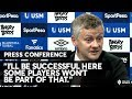 EVERTON 4 MAN UTD 0: Solskjaer's post match press conference