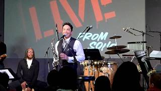 "Dave Koz performing "" This guy"