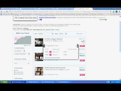 How To Find Budget / Cheap Hotels In Sulawesi, Indonesia ?