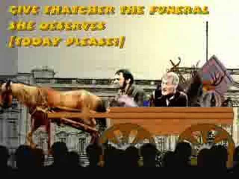 Thatcher's funeral