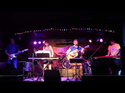 Phideaux with former members of Mars Hollow at Paladino's - Tempest of Mutiny