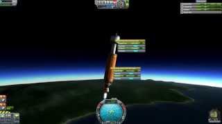 Kerbal Space Program - 5 Part Rocket To Gilly & Minmus (Reddit Challenge)