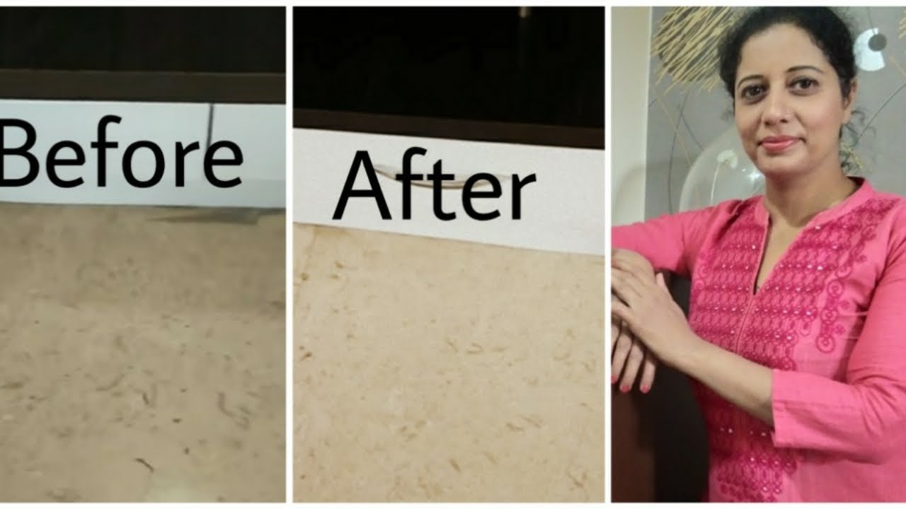 How To Clean Marble Floor In Seconds Youtube