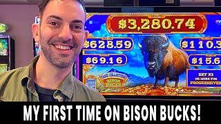 💸 FIRST TIME ON BISON BUCKS! 🐃 Slash the CASH for BIG WINS 💵 Ho-Chunk Gaming Madison #ad