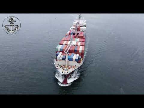 SANTOS PORT DRONE SHIPSPOTTING #96
