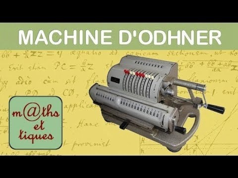 d monstration d 39 une machine d 39 odhner machine calculer ancienne youtube. Black Bedroom Furniture Sets. Home Design Ideas