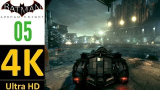 [4K]:Batman Arkham Knight Gameplay Part 5(Hard/No Damage/No Upgrades)-Helicopter Boss(No Commentary)