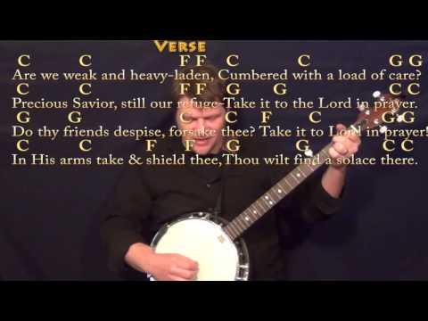 What A Friend We Have In Jesus Keyboard Chords By Rhonda Vincent