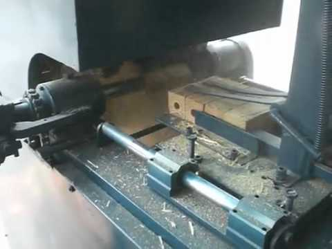 Wood Handle Automatical Processing Machine Flv Youtube