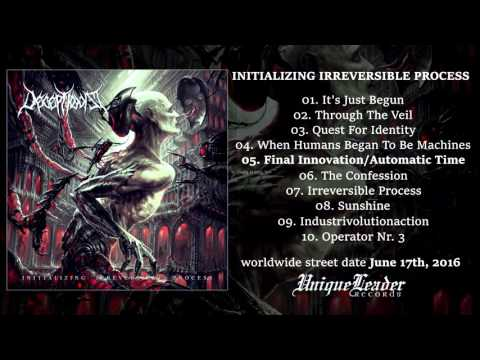 DECEPTIONIST Initializing Irreversible Process Album Teaser