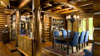 Automated Swedish Cope Log Homes Milled by Rocky Mountain Log Homes