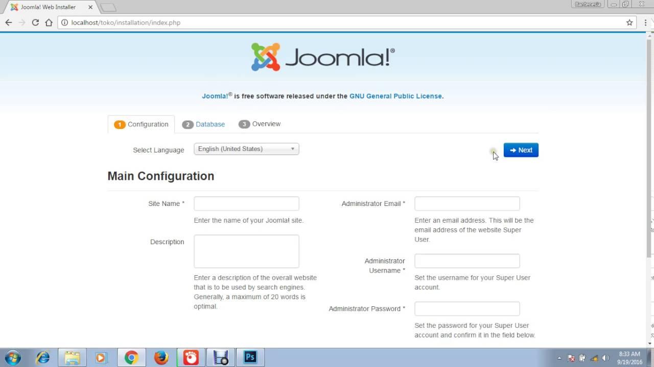Cara Membuat Toko Online dengan Joomla - YouTube