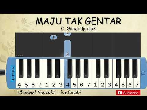 Not Pianika Maju Tak Gentar - Belajar Pianika