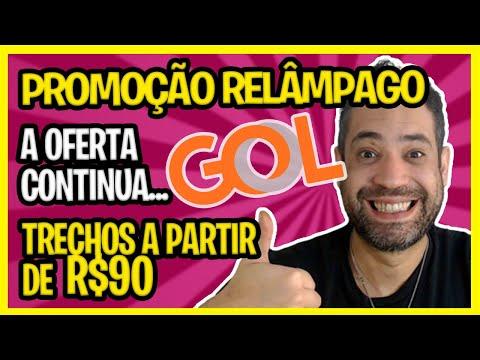 ☑ PROMOÇÃO RELÂMPAGO GOL - A PARTIR DE R$90 - A OFERTA CONTINUA!