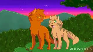 •[Коты~Воители] {Огнезвёзд и Песчаная Буря} Задыхаюсь  заказ с канала Кошка Белка •