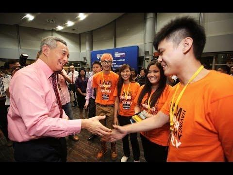 Singapore: Progressing Together (NTU Ministerial Forum 2014)