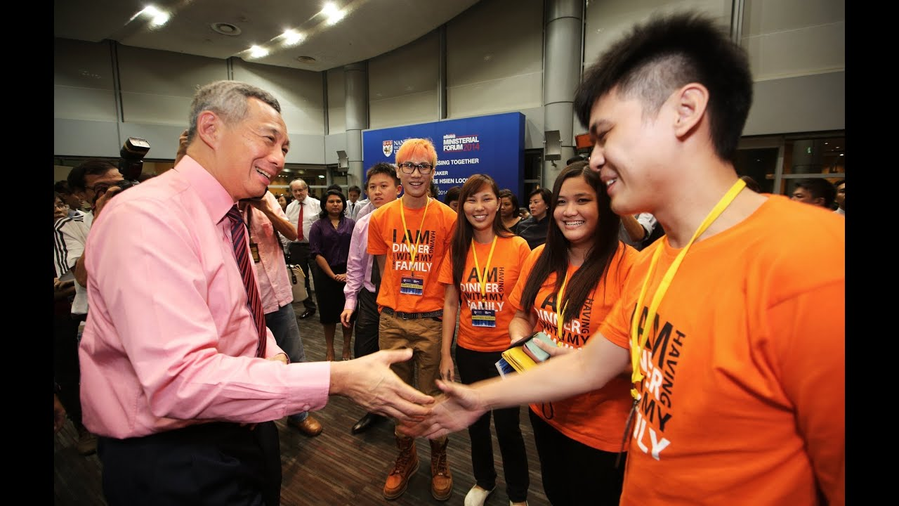 If Only Singaporeans Stopped to Think: PM Lee at NTU