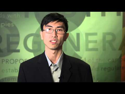 Ningzhe Zhang, Buck Institute - CIRM Stem Cell #SciencePitch